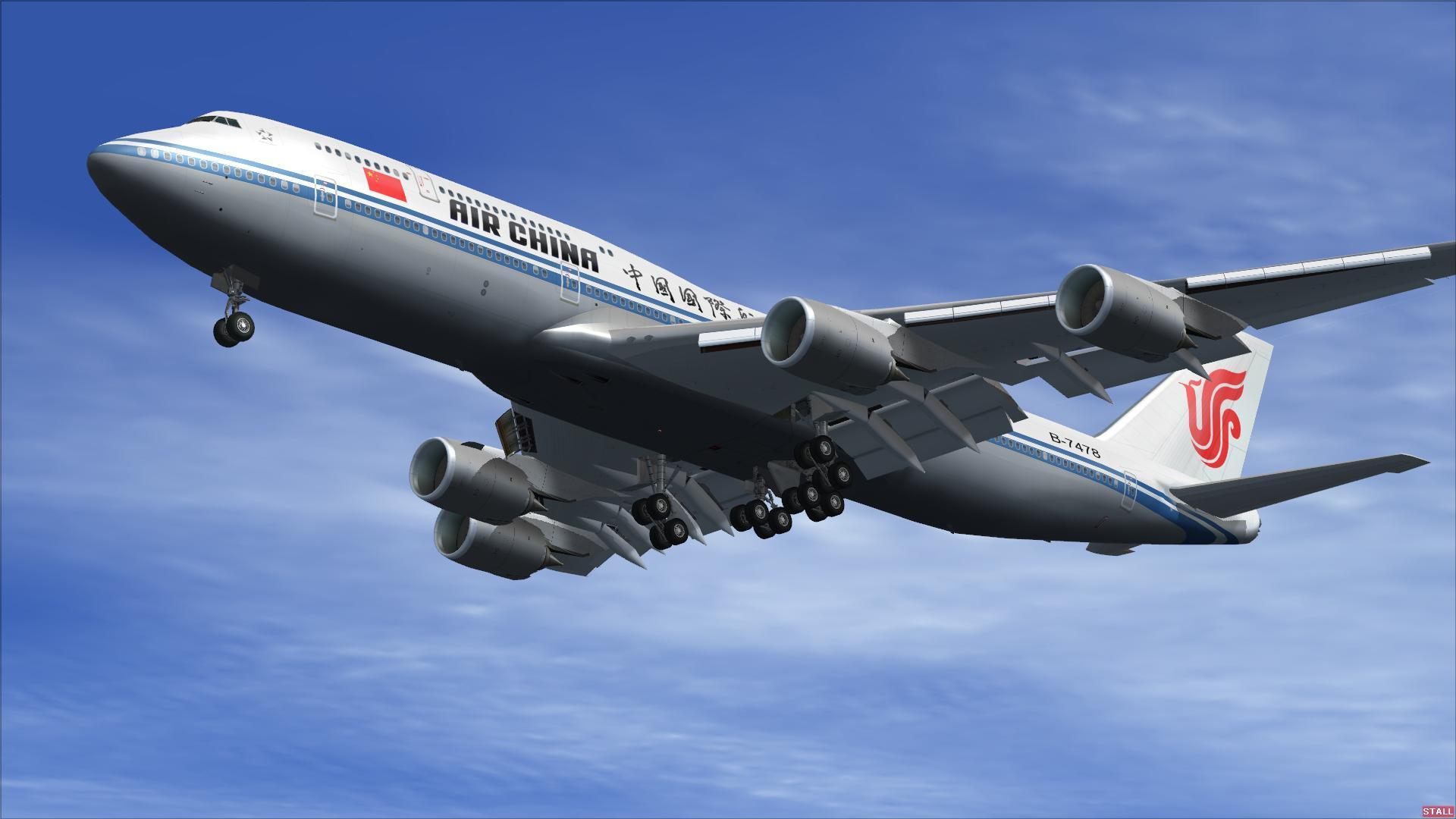 equipaje de mano air china
