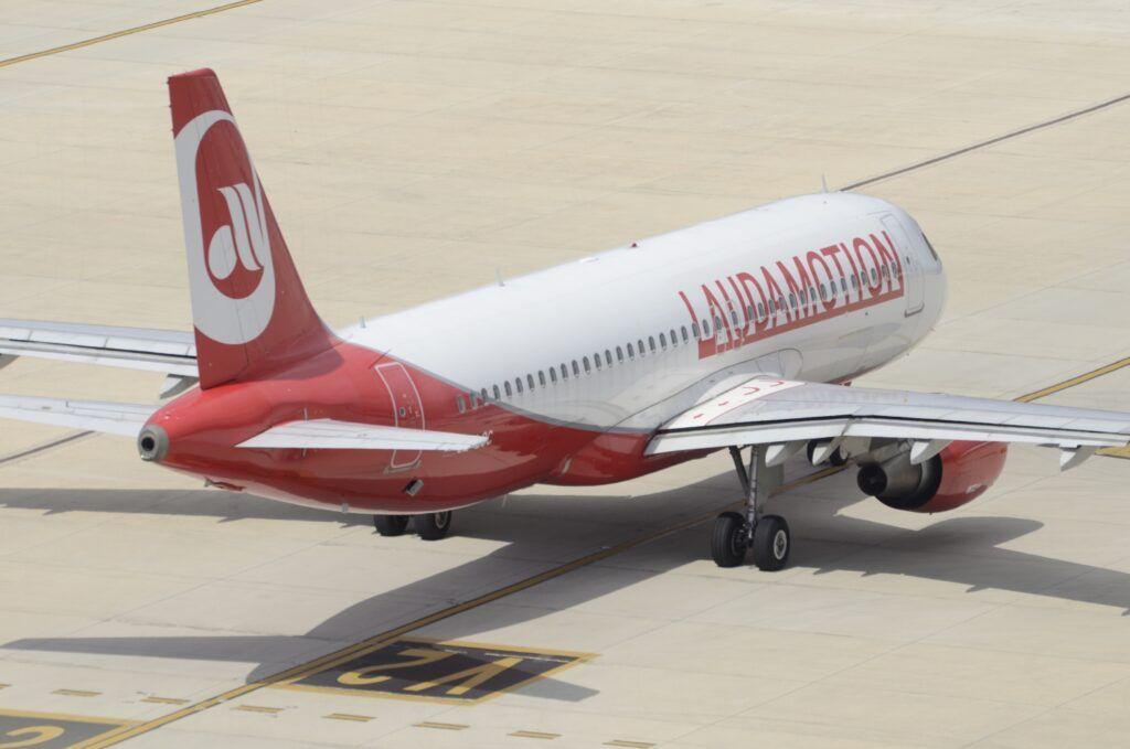 Avión de Laudamotion