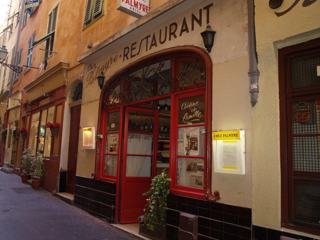 Comer barato en Niza en Chez Palmyre