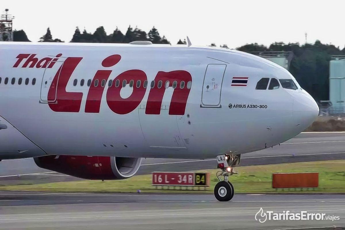 thai lion air equipaje de mano