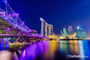 dónde está singapur