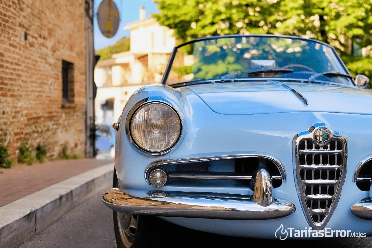 alquilar coche en roma